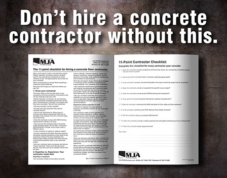 Concrete floor contractor