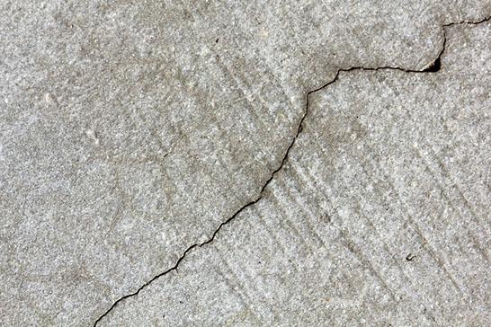 Concrete Floor Crack Repair