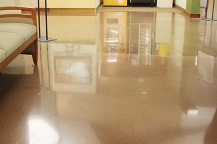 Polishable Concrete Floor Overlays