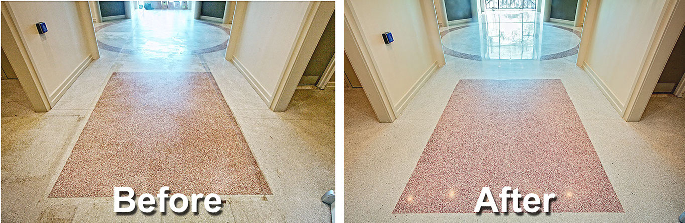 Terrazzo Restoration Terrazzo Floor Polishing The Mja