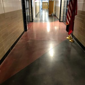 Concrete Floors for Salamanca High School