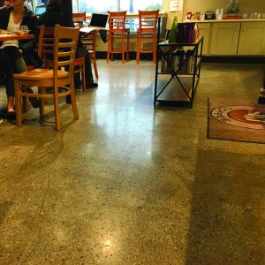Spot Coffee Polished Concrete