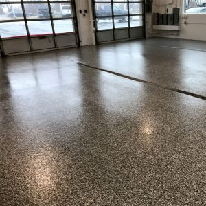 Decorative Flake Epoxy Floor System