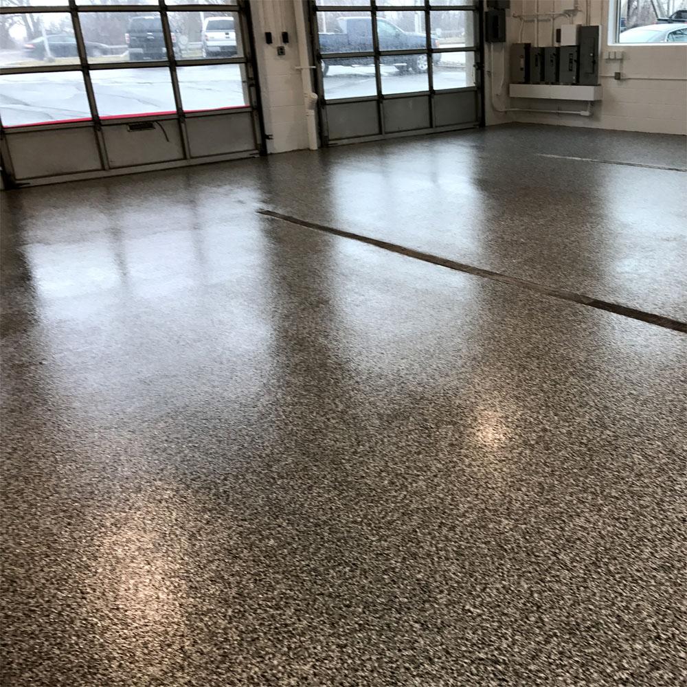 Decorative Flake Epoxy Floor System