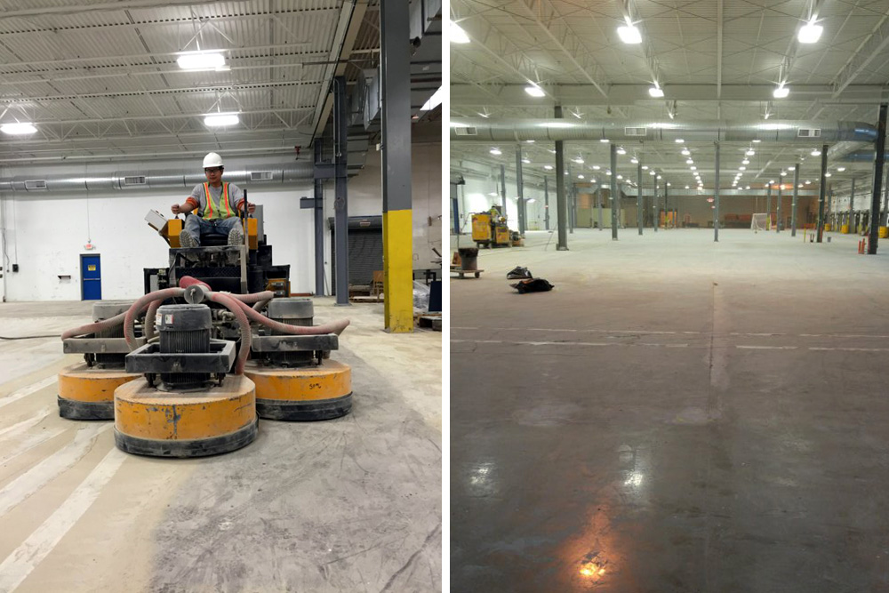 235,000 Square Foot Floor Polishing Project Completed for Thermo Fisher
